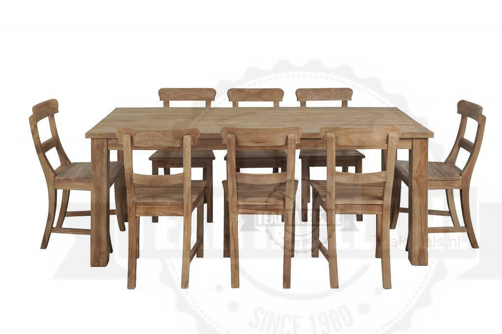 teak-tafel-geborsteld-200-stoelen
